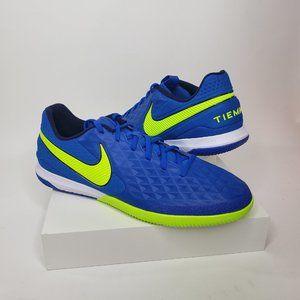 Nike React Tiempo Legend 8 PRO IC Navy Volt Soccer